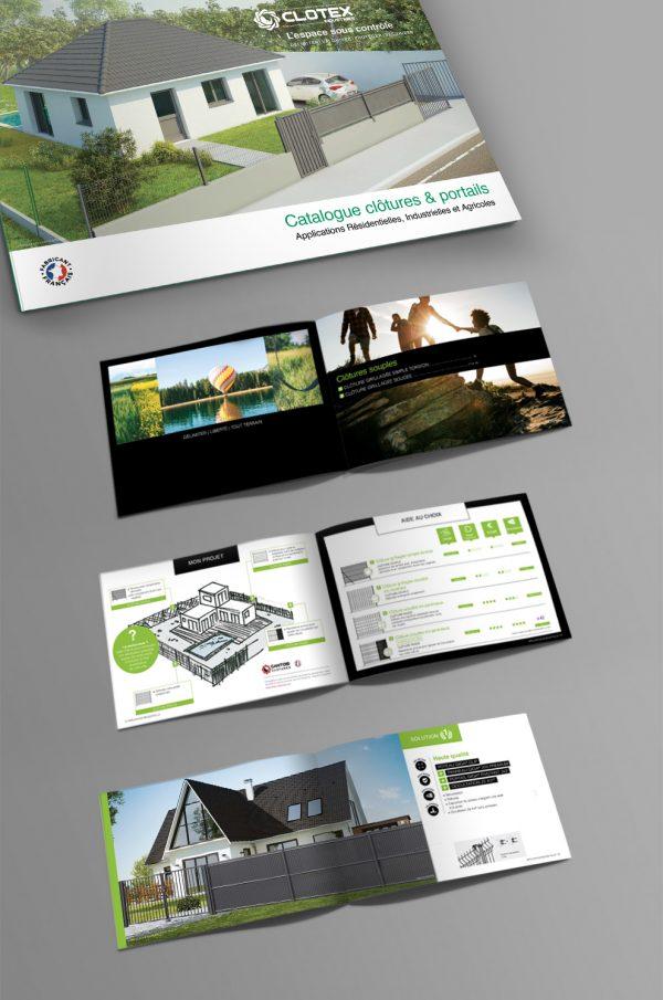 Catalogue des produits de clôtures et portails